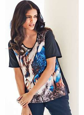 Unbranded Scenic Print Top