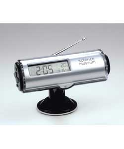Science Museum Splashproof FM Clock Radio