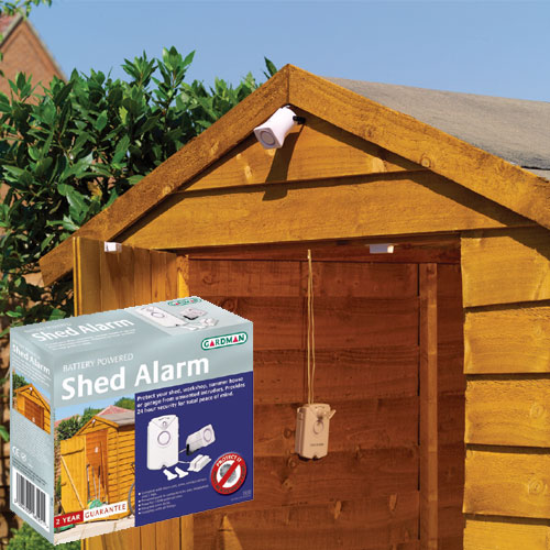 Shed Alarm Home Security and Burglar Alarm - review ...