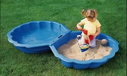 Shell sand pit pool garden game review compare prices for Garden pool tesco