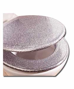 Silver Sparkle Toilet Seat Images Frompo