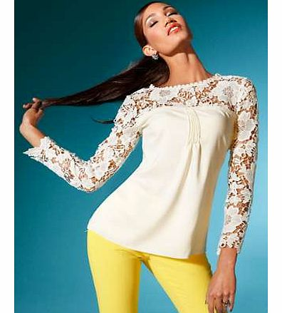 Unbranded Singh Madan Lace Top