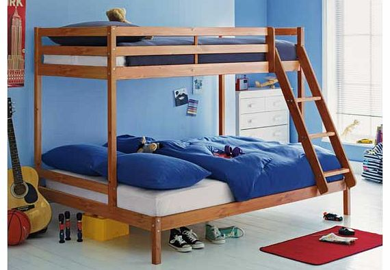 Double and Single Bunk Bed 570 x 395