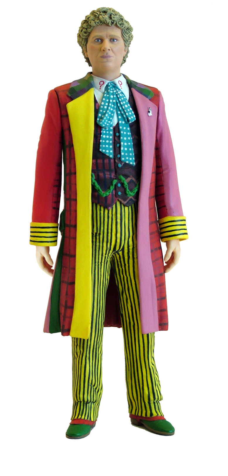 Sixth doctor embroidery