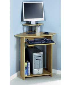A small corner desk can be practical and add charm