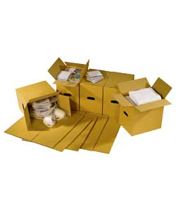 Packing and storage of small items - books, cds dvds.Brown.Corrugated cardboard.Stackable.Storage ca
