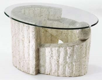 Sorento Stone Oval Coffee Table Review Compare Prices
