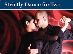 Unbranded strictly dance session (for two)