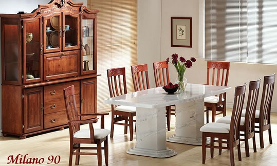 Sultan Dining Set & Free Coffee Table