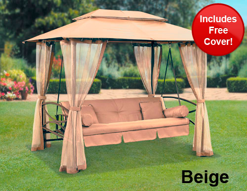 Suntime Luxor Swing Gazebo With Free Cover Review