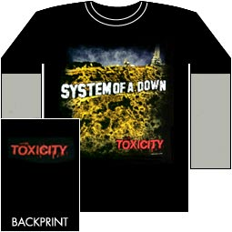 t shirts system of a down toxicity t s. Black Bedroom Furniture Sets. Home Design Ideas