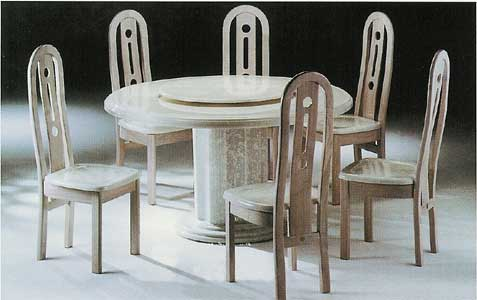 Taj Mahal Dining Set & Free Coffee Table