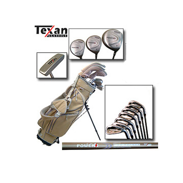 NEW IN BOXLadies` Complete Titanium Golf Package - PetiteIdeal for Ladies 5ft 3 and below and teenag