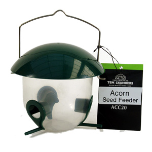 Tom chambers acorn seed feeder review compare prices for Acorn feeder