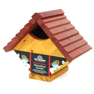 Tom Chambers Rockin Robin Pitched Roof Nest Box product image