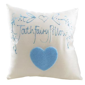 Unbranded Tooth Fairy Pillow for a Boy Hanging Silk Cushion