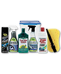 turtle wax car valeting kit car cleaning product review compare prices buy online. Black Bedroom Furniture Sets. Home Design Ideas