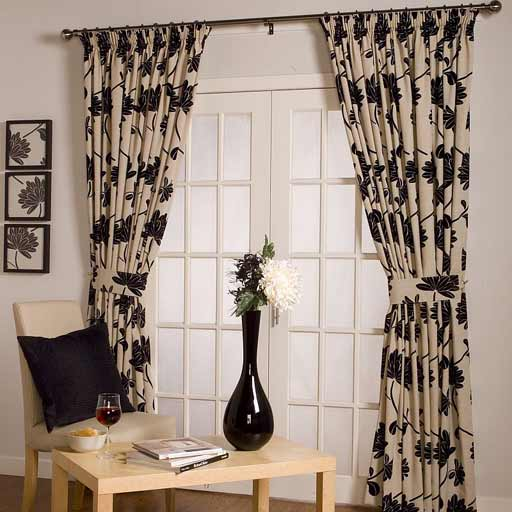 Making scarf valances, free instructions - Free curtain and window