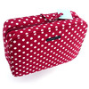 A marvel of style and practicality, this hang-up bath bag will tidy-up her toiletries and make findi