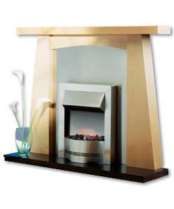 Ultra Contemporary Surround and Elda Electric Fire