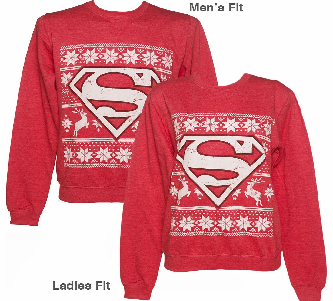Fly high with Santa at Christmas by transforming yourself into Superman this year! This sweater is definitely not made of steel, its super comfortable and all kinds of warm on this inside! If youre a fan, then show some super hero appreciation over t