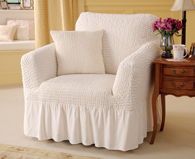 Valanced Armchair Cover And Cushion Review Compare