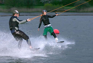 Wakeboarding for two product image