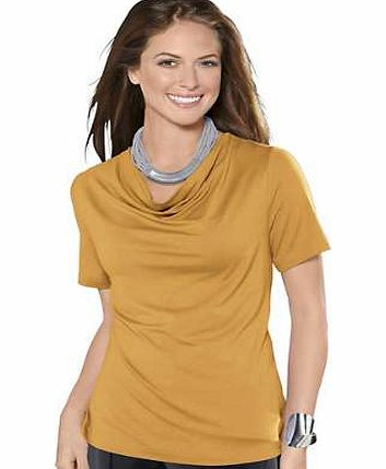 Unbranded Waterfall Neck Top
