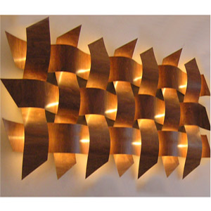 Large Bulb Wall Lights : Weave Wall Lights (Large Copper) - review, compare prices, buy online