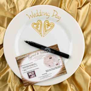Wedding Gift Price Uk : Wedding Plate Gold Wedding Giftreview, compare prices, buy online