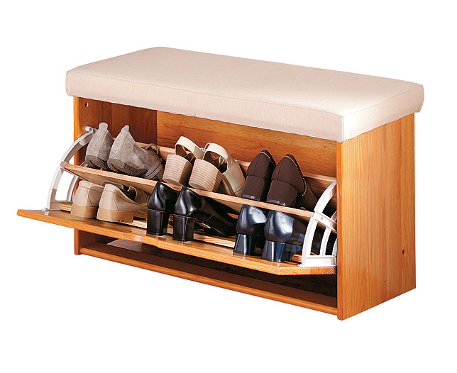 simple wooden storage bench plans | Quick Woodworking Projects