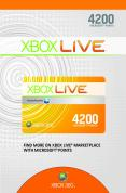 Xbox Live 4200 Points Card product image