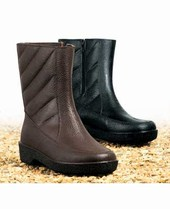 Unbranded ZIP LINED WATERPROOF BOOT