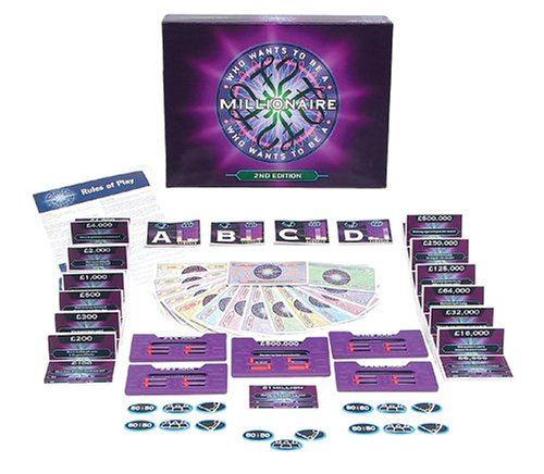 who wants to be a millionaire board game uk