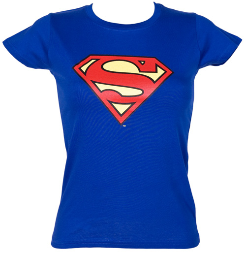 urban species ladies classic superman logo t shirt from urban review compare prices buy online. Black Bedroom Furniture Sets. Home Design Ideas