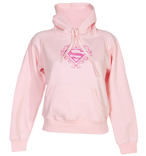 Urban Species Ladies Pink Supergirl Hoodie from Urban Species product image