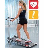 Resistance treadmill with an 8 height adjustable deck and 4 function (calories, speed, distance and  - CLICK FOR MORE INFORMATION