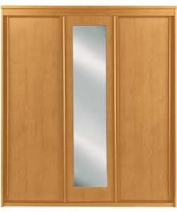 vancouver 3 sliding door mirrored wardrobe pine review compare