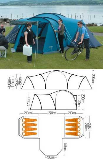 Vango Tents 800