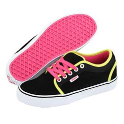 Ladies Chukka Low Skate Shoes - (Suede) Black