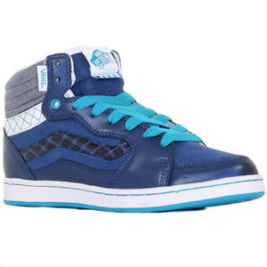 Forty Four Hi Hi top - Denim Blue