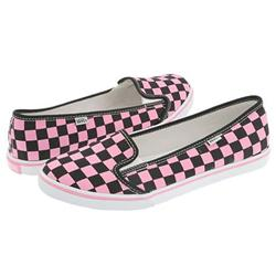 Ladies KVD Shoes - Prism Pink/Black Checker