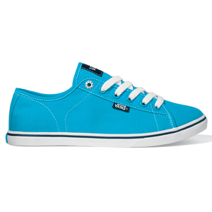 Ladies Vans Ferris Lo Pro Shoe. Blue White