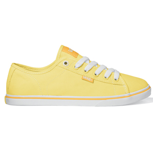 Ladies Vans Ferris Lo Pro Shoe. Yellow White
