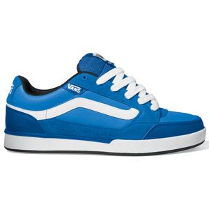 Vans Mens Mens Vans Giniss Shoe. Blue White