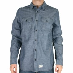 Vans Mens Vans Av Apprentice Shirt Federal Blue product image