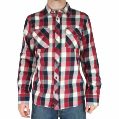 Vans Mens Vans Earnest Shirt Rio Red product image