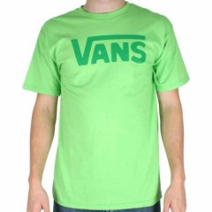 Vans Mens Vans Vans Classic Tee Lime/Celtic Green product image