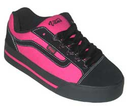 Retro styled sports shoe from Vans.  The upper has - CLICK FOR MORE INFORMATION