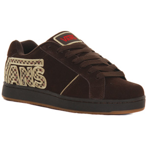 Vans Widow Suede Skate shoe - Brown/Khaki